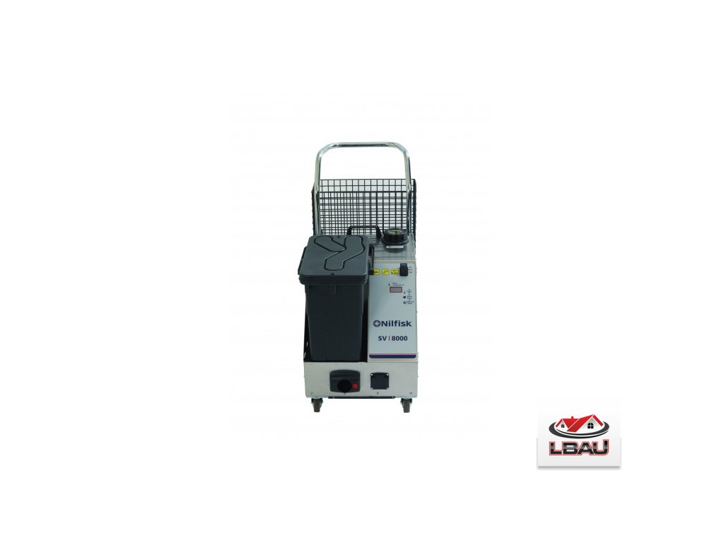 Nilfisk Parný čistič SDV 8000 s odsávaním 45000006
