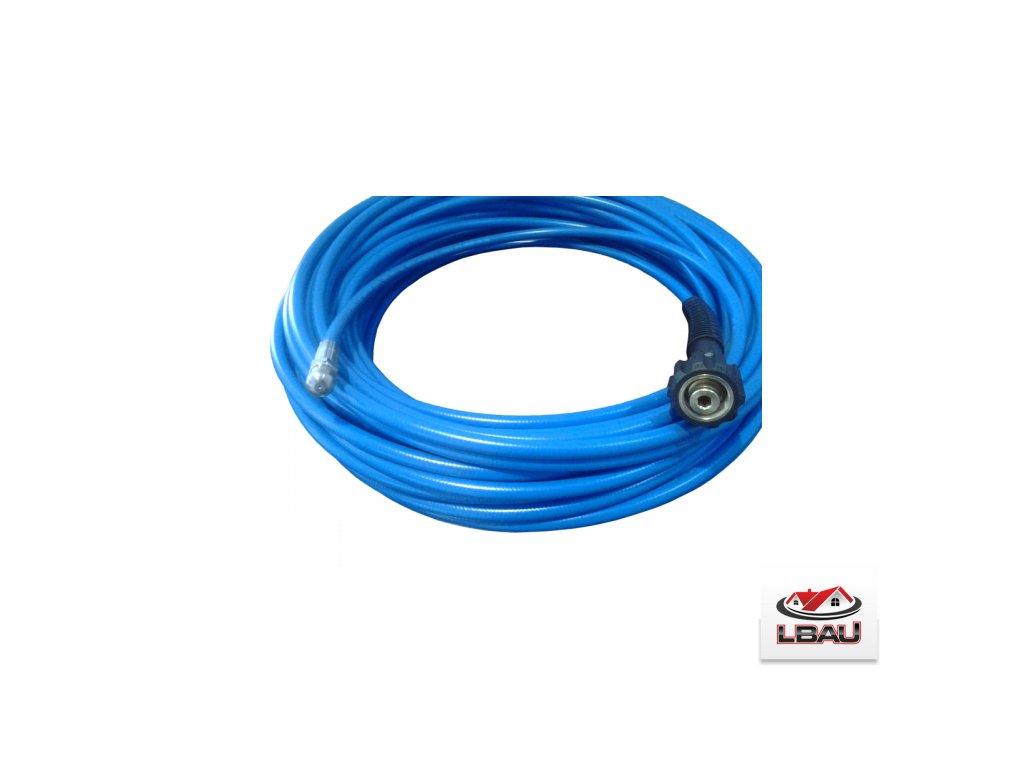 Čistič trubiek modrý DN5x1 x25metrov - 250 bar - 60ºC s tryskou 045 a pripojením Nilfisk HOBBY 0609903460