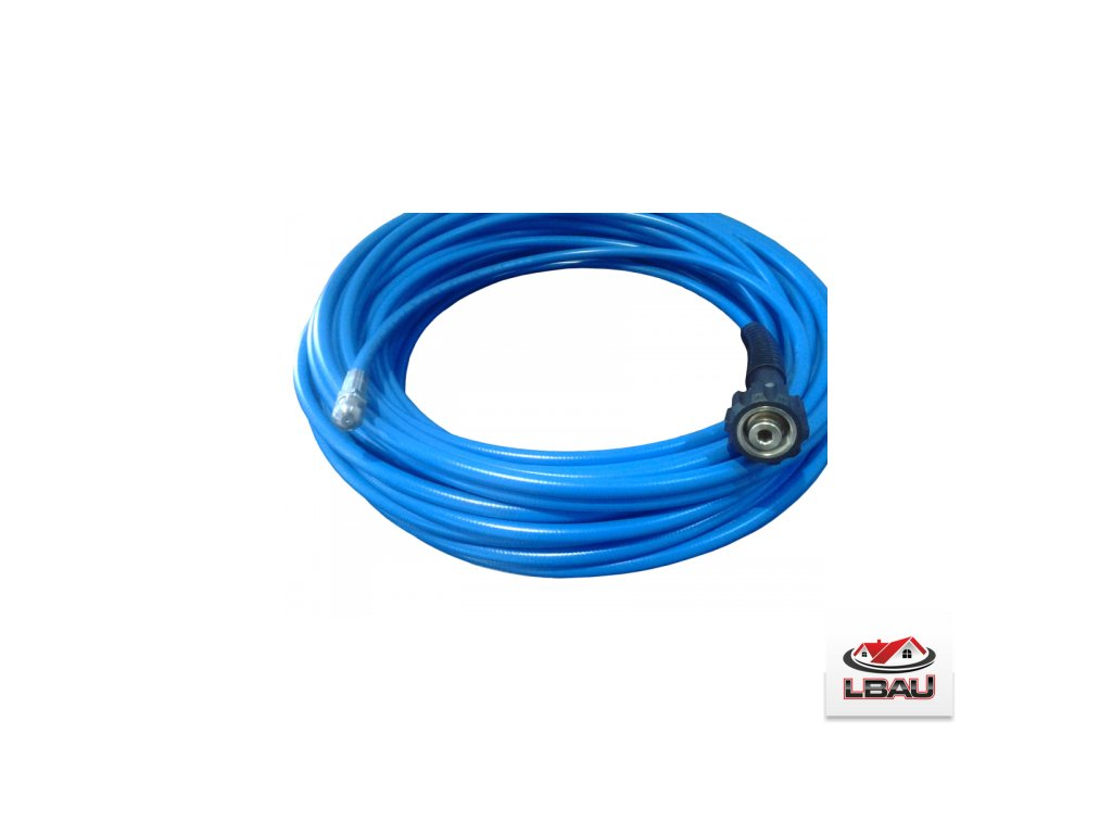 Čistič trubiek modrý DN5x1 x25metrov - 250 bar - 60ºC s tryskou a pripojením Nilfisk KEW Profi 0609903460