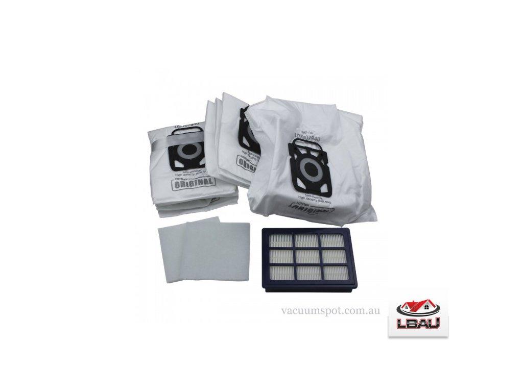Nilfisk Vrecká + HEPA filter ( KIT ) pre  vysávače  Nilfisk ELITE 107407952