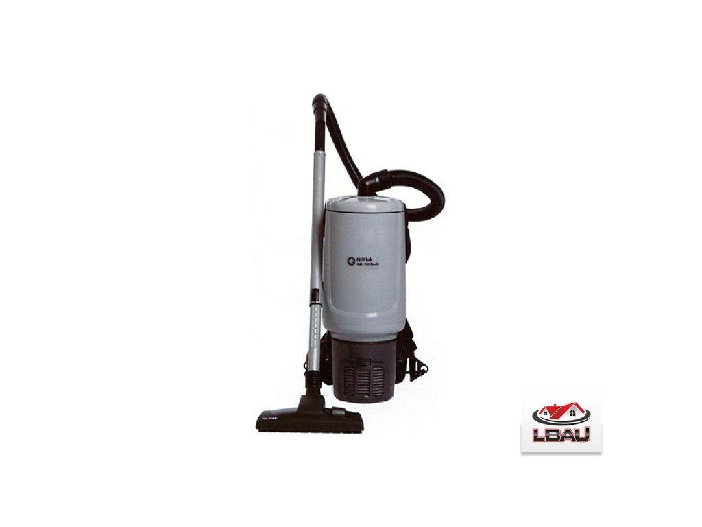 Nilfisk GD10 BACK HEPA EU 107417927 - Chrbtový vysávač na suché vysávanie