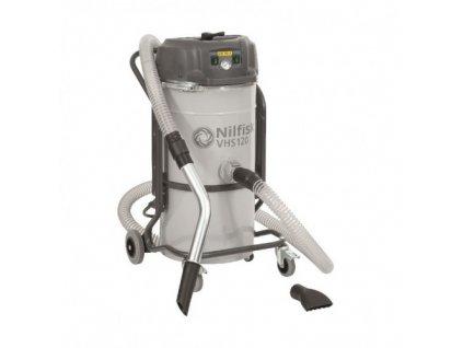 Nilfisk VHS120 Metal Chips All-in-one -  Jednofázový dvojmotorový vysávač na čistenie strojov 4012300135