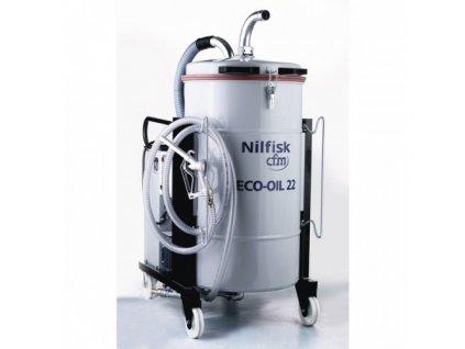 Nilfisk ECOIL 22 4030400003 - Trojfázový priemyselný vysávač na vysávanie olejov