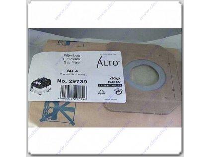 Nilfisk Filtračné vrecká papierové 5ks Nilfisk 29739 pre vysávač SQ4