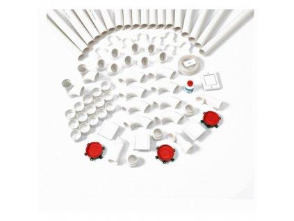 Nilfisk Inštalačná sada pre CV Nilfisk 42000202 - 3 zásuvky + trubky