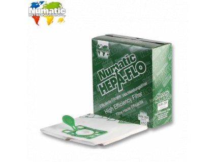 Numatic Hepaflo prachové sáčky 10ks NVM-2BH 604016