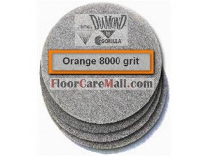 """PAD ETC GORILLA DIAMOND 11 000 Oranžový 12""""/30,5cm PAD na kamenné podlahy"""