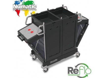 Numatic SAXAT-240 NuSax Systems - Upratovací vozík SAXAT240