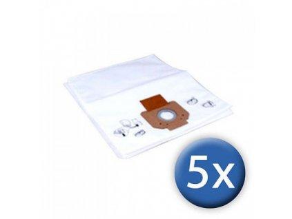 Fleece filter bag 5ks 107419593 - Filtračné vrecká pre vysávače Nilfisk ATTIX 33-44