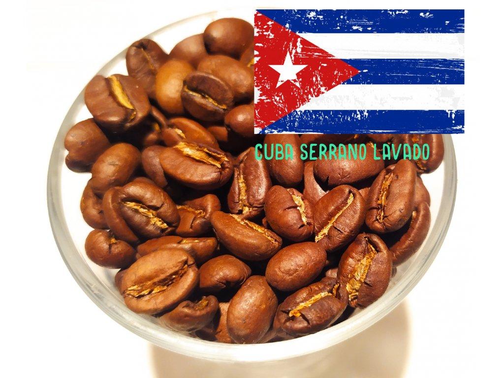 Zrnková káva Cuba Serrano Lavado