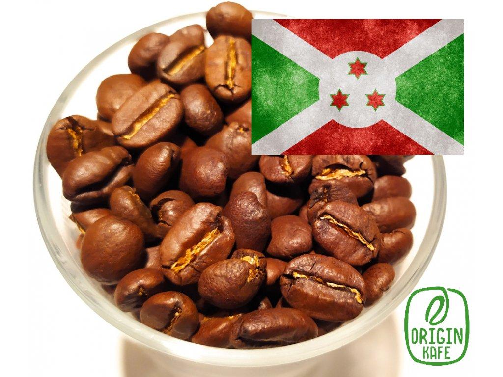 Zrnková káva Burundi Gatukuza