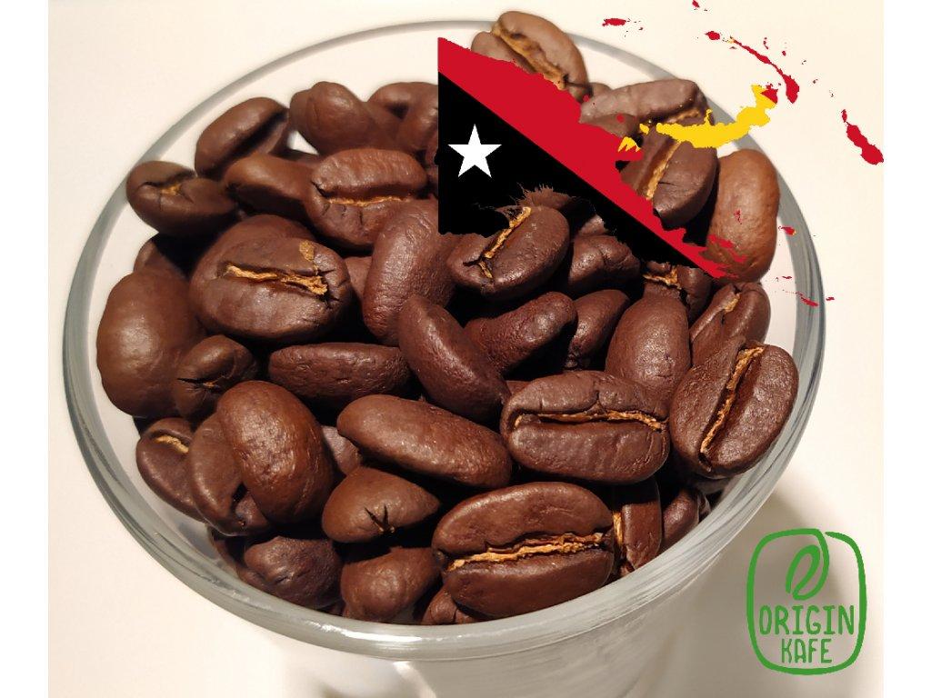 Zrnková káva Papua New Guinea Sigri Plantation