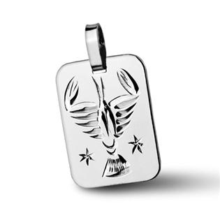Stříbrný přívěsek - znamení Rak