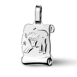 Stříbrný přívěsek - znamení Býk