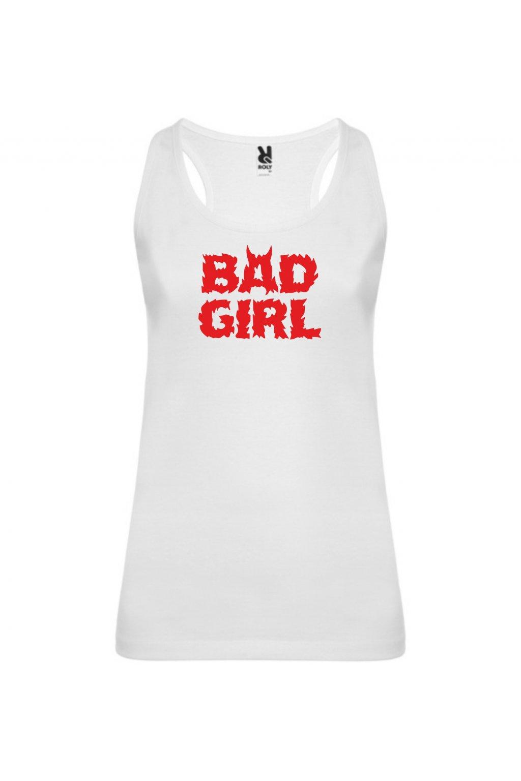 bad girl bílá T