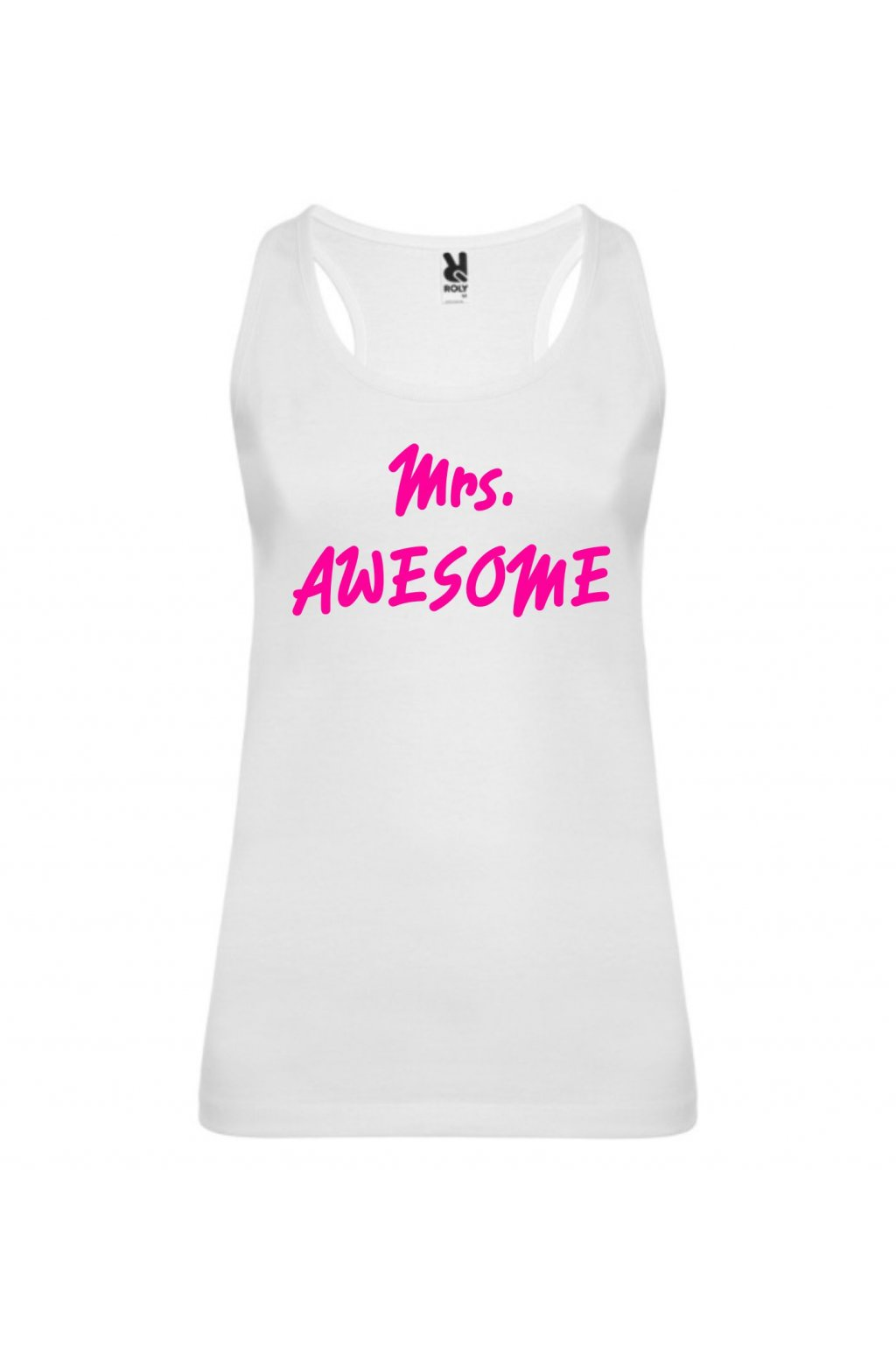 Mrs. Awesome - tílko(V)