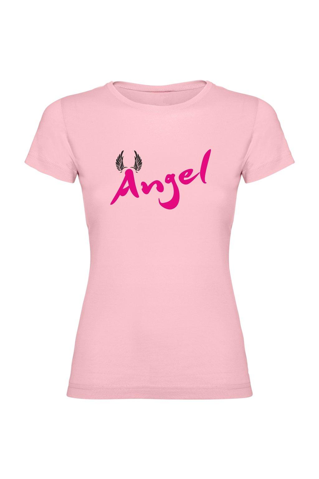 angel světle růžová