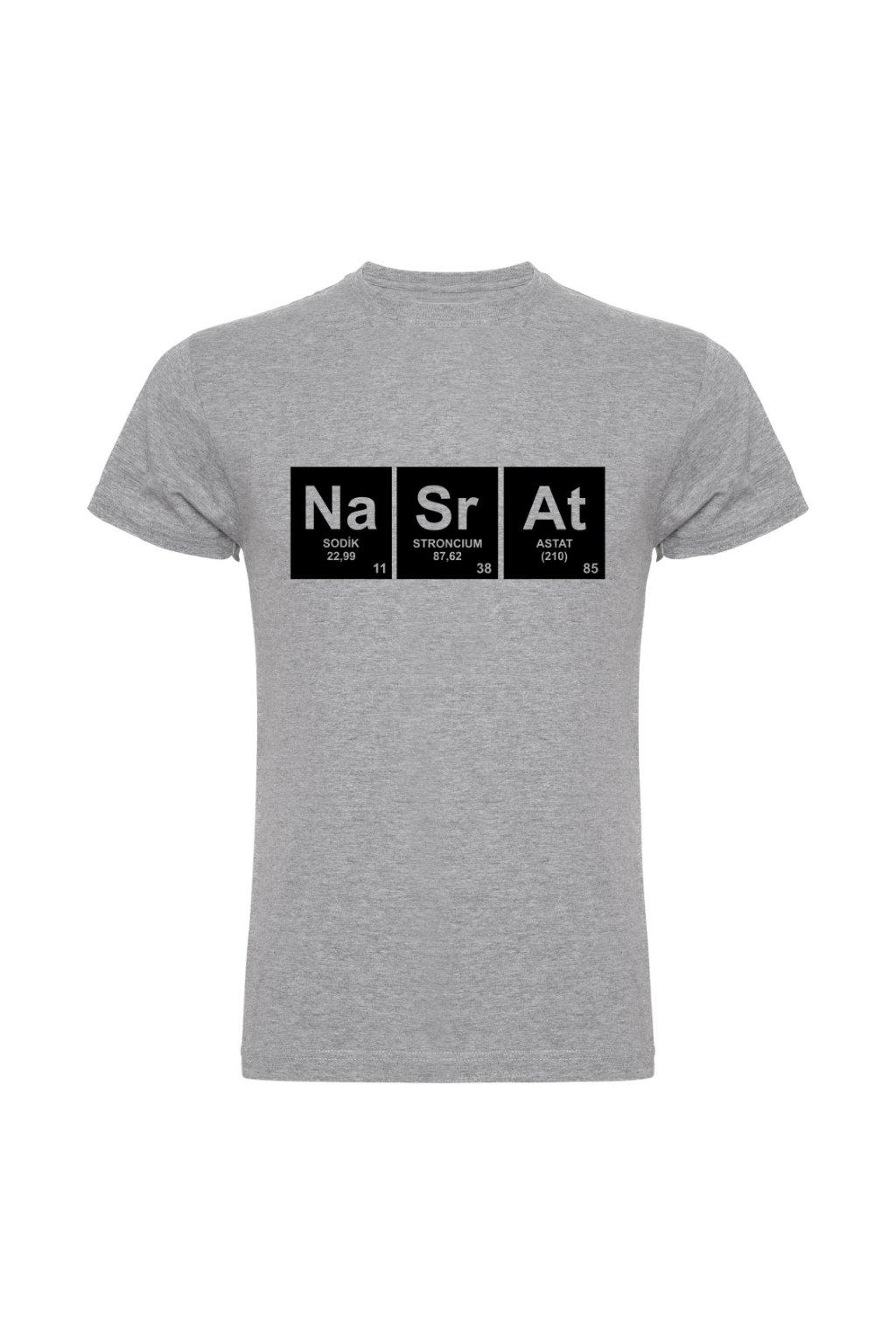 chemik nasrat šedá melír