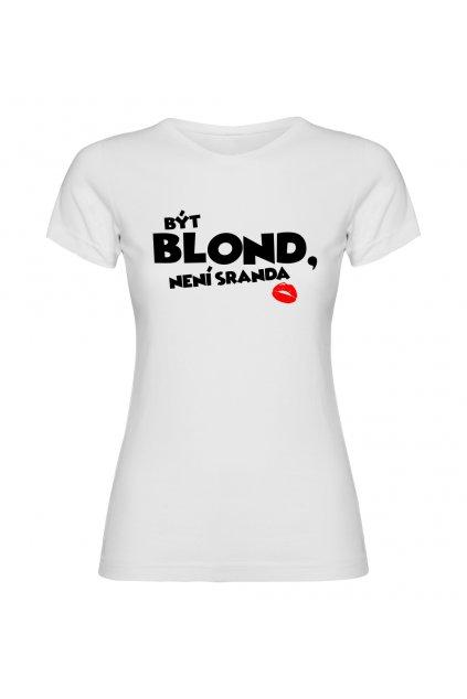 být blond bílé