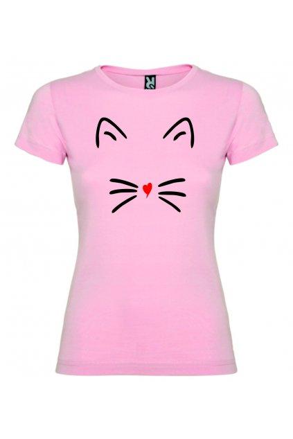 catgirl růžová