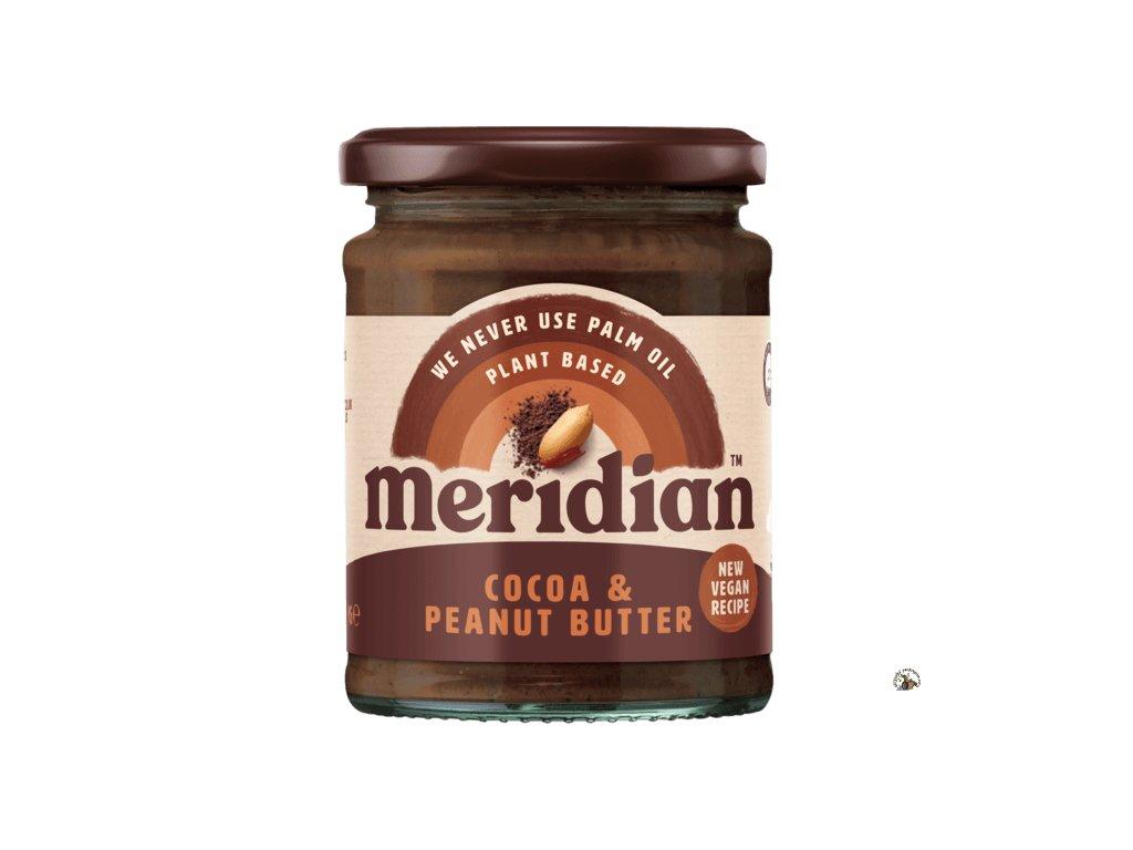 Meridian Arašídovo kakaové máslo 280g front ROUNDEL 540x
