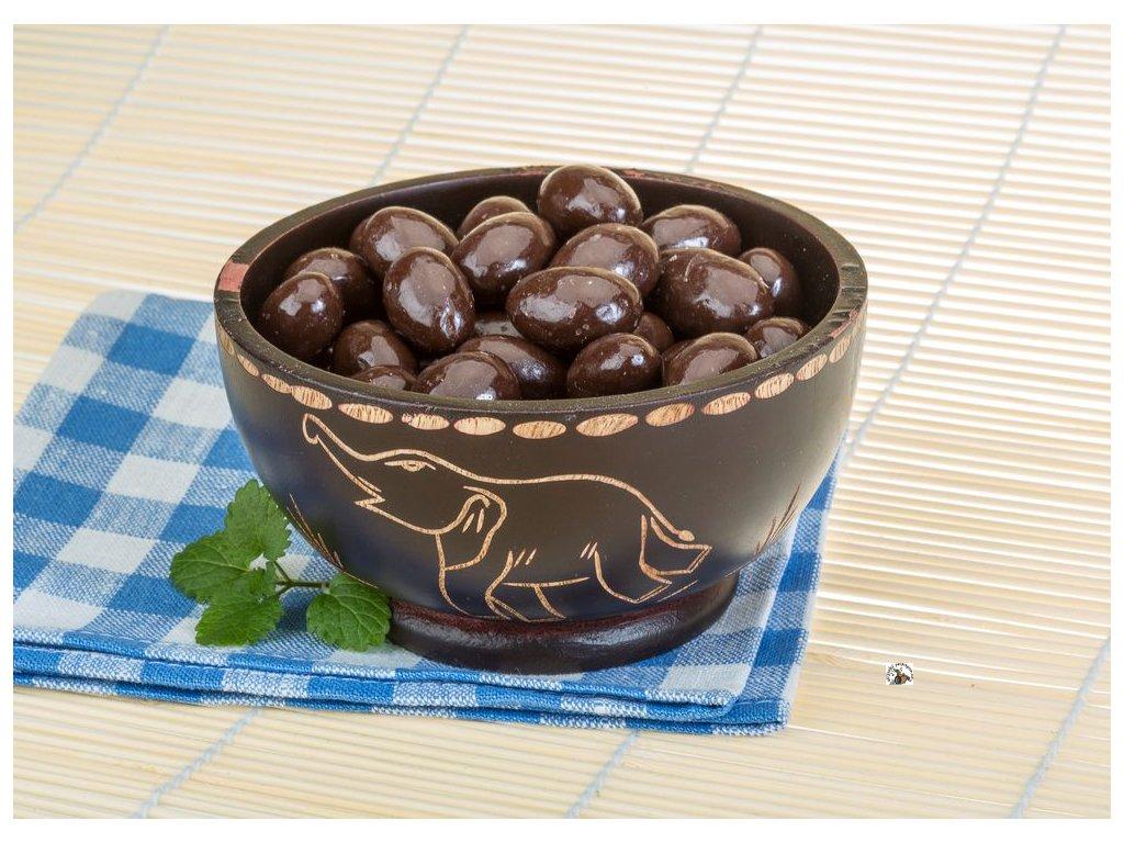 mandle mléčná čokoláda