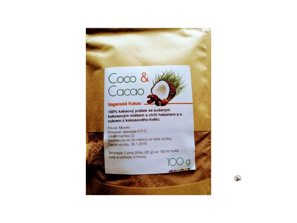 Coco and Cacao - veganské kakao 100g