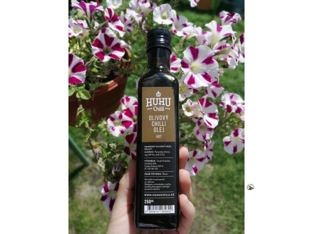 huhu chilli olivový olej 3