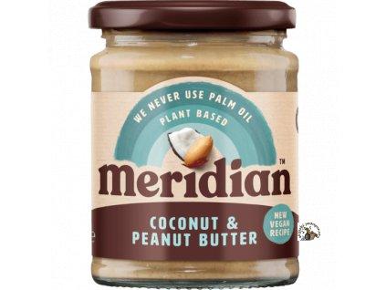 Meridian Arašídovo kokosový krém 280g front ROUNDEL 540x