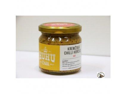 Kremžská chilli hořčice, 200ml