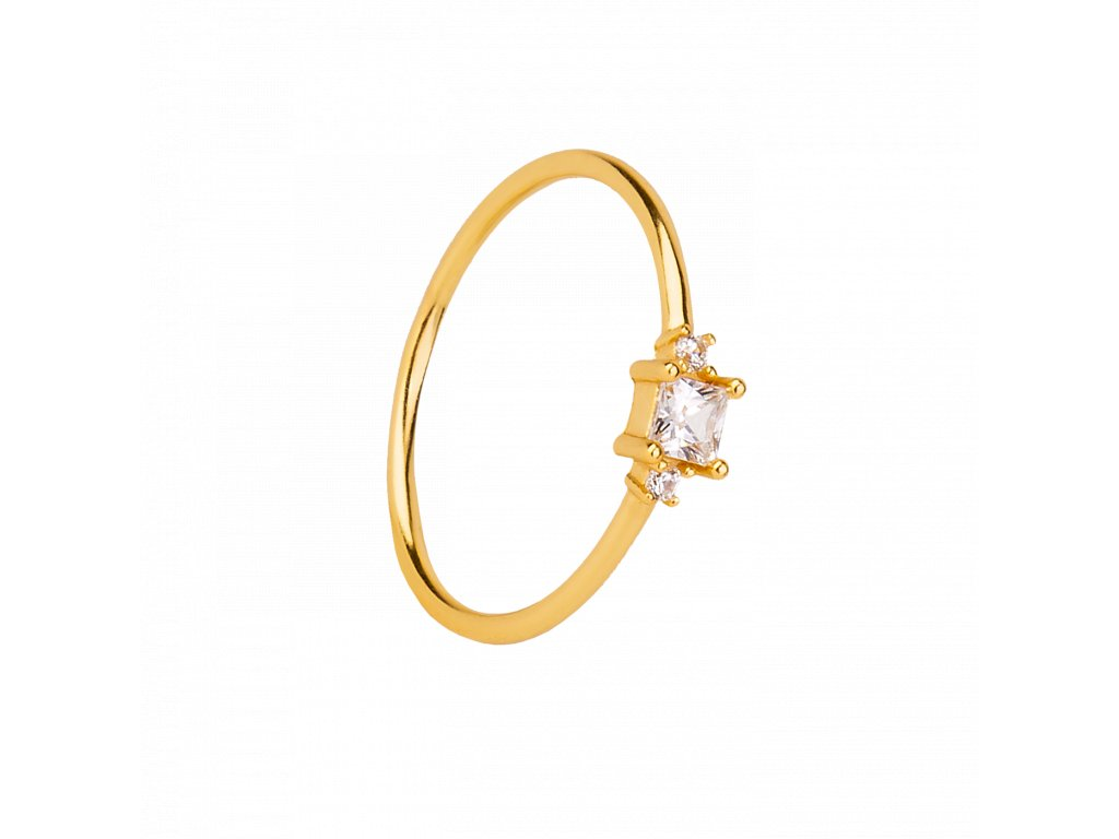 Pozlacený prstýnek Morgan gold
