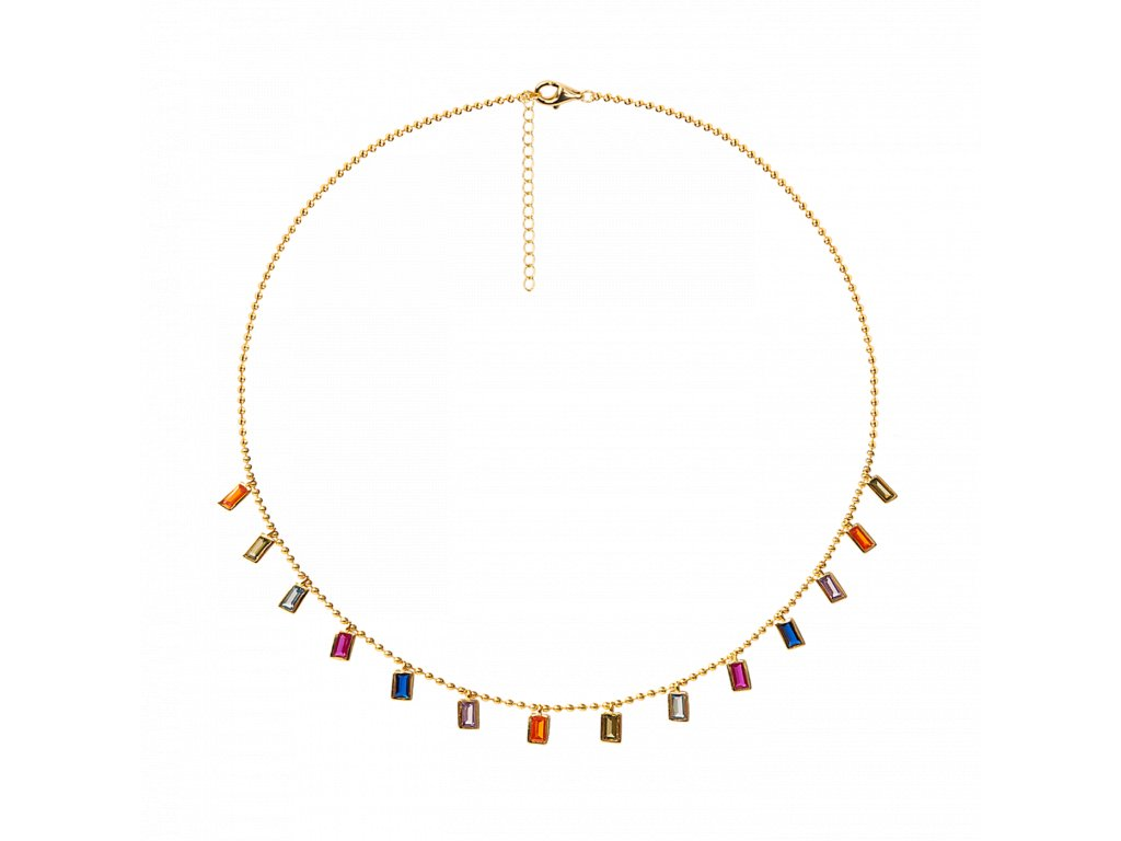 Ornamenti.cz Aleyolé, náhrdelník Titanum gold