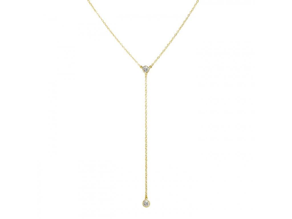 Ornamenti.cz Aleyolé, náhrdelník Caly gold
