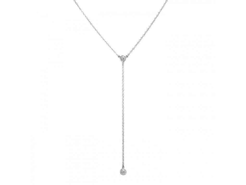Ornamenti.cz Aleyolé, náhrdelník Caly silver