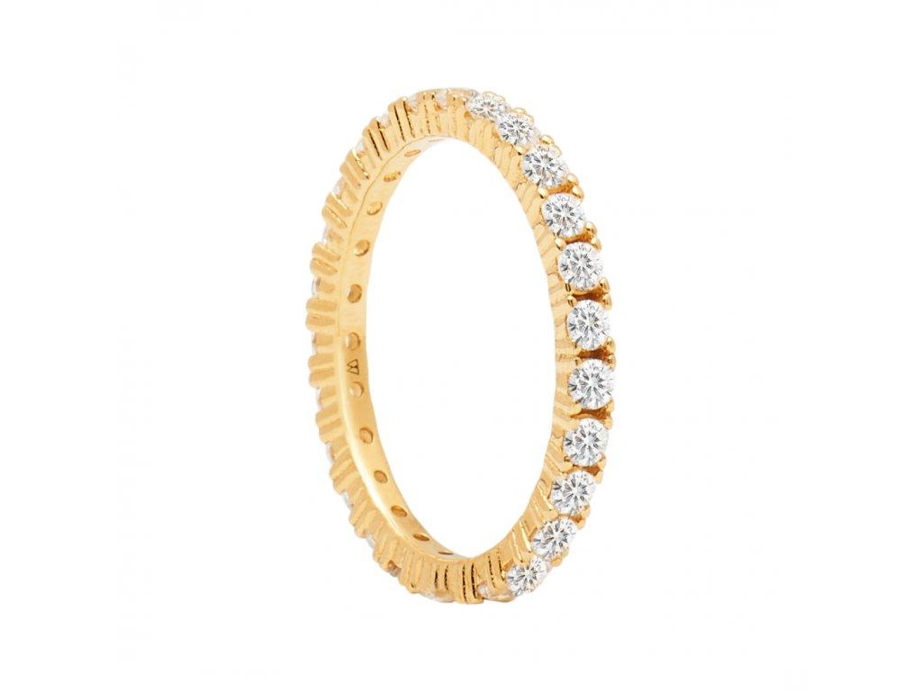 Pozlacený prstýnek Naomi gold