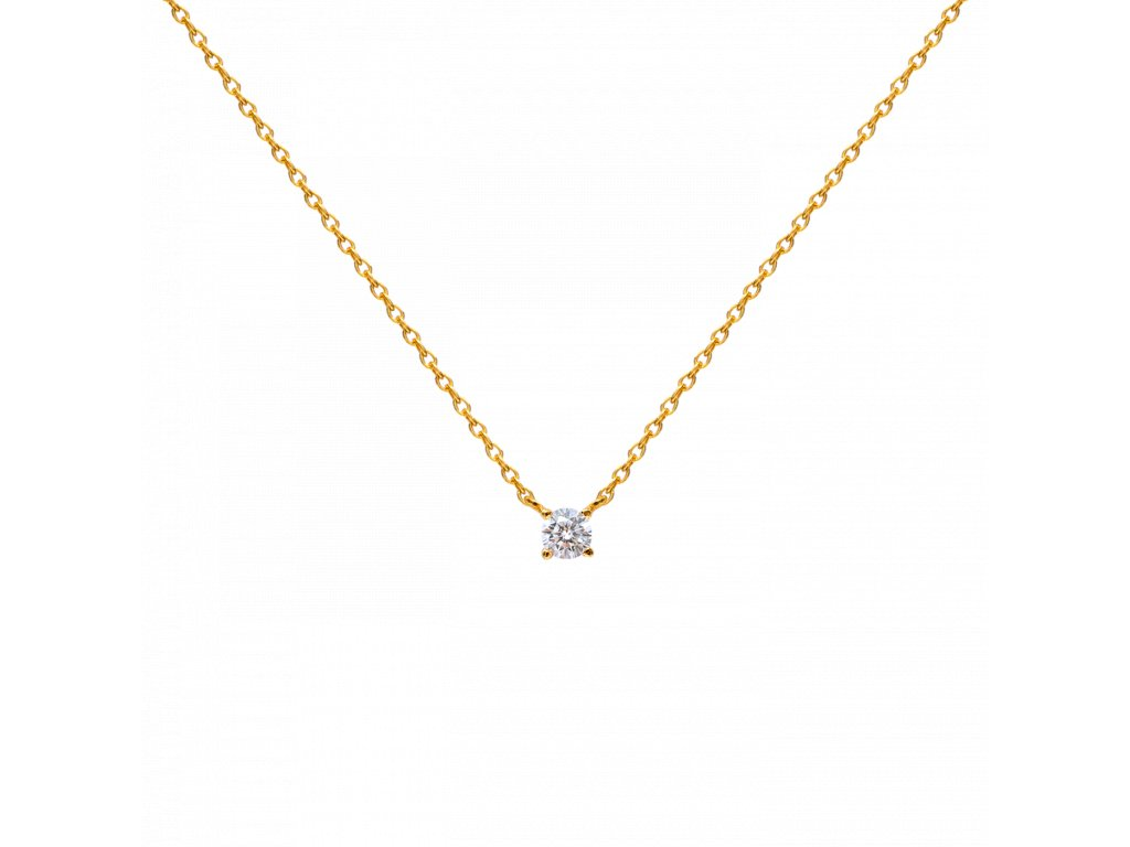 Ornamenti.cz Aleyolé, náhrdelník Flash gold