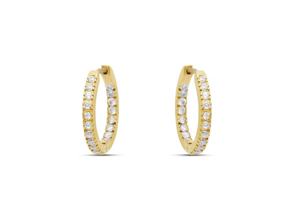 Gold Vermeil Diamond hoop earrings 48425055 a349 4702 86cd 1762cf841f39 1800x1800