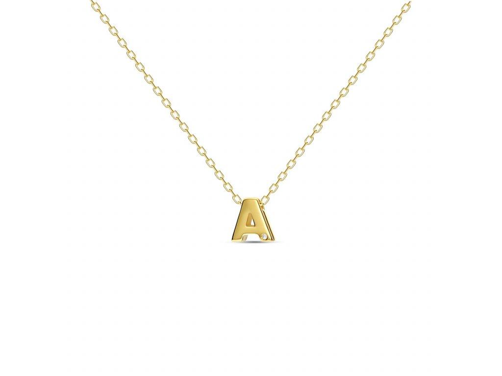 A letter necklace gold 13ee155d e3b1 43d2 94de 3d3301466d86 1800x1800