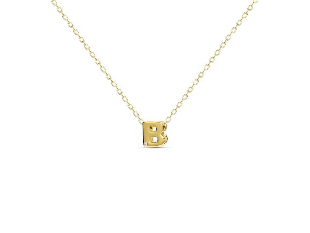 B letter necklace gold 15b225d3 27d7 47c1 a309 26a3ef2c978e 1800x1800
