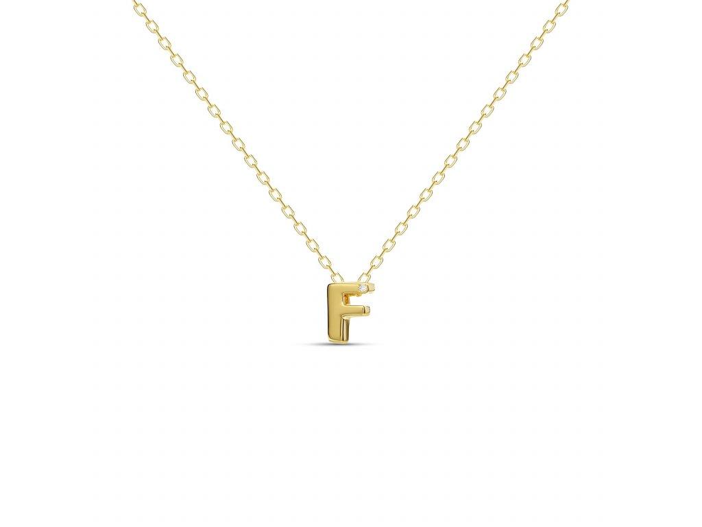 F letter necklace gold 7dadd469 e152 45f3 b84a 6d1e3d02c7a9 1800x1800