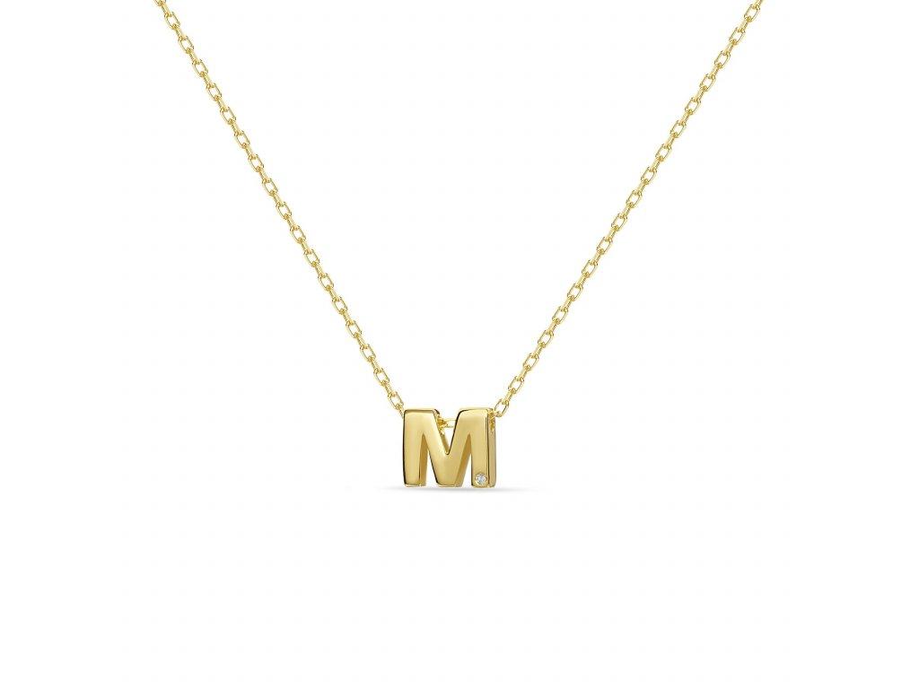 M letter necklace gold 7683a2b4 e45b 442f 8a92 46858e277ad3 1800x1800