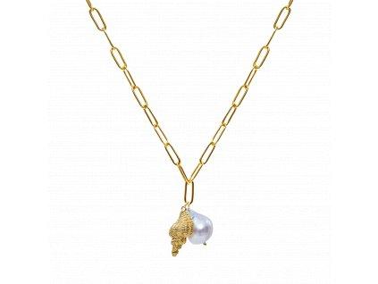 Ornamenti.cz Aleyolé, náhrdelník Delmare Gold