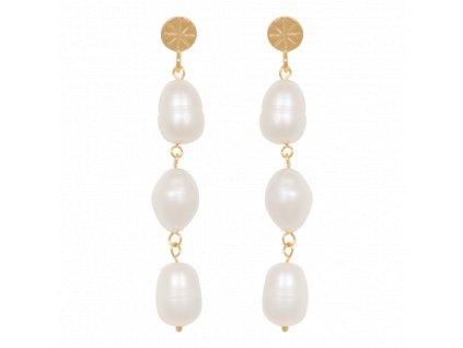 Statement Freshwater Pearl earrings