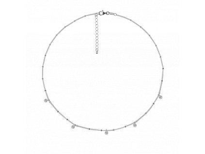 Ornamenti.cz Aleyolé, náhrdelník Element silver I