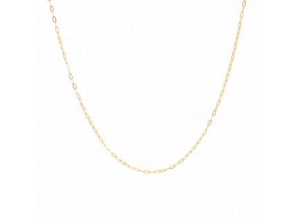 Short chunky chain necklace
