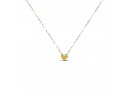 ornamenti optimized.cz mosuo, náhrdelník heart gold