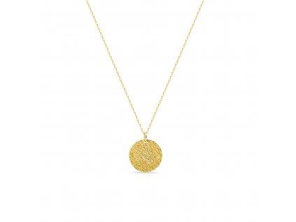 ornamenti optimized.cz mosuo, náhrdelník love you to the moon & back gold predni strana