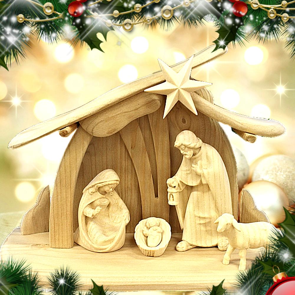Tradiční vánoční betlémy