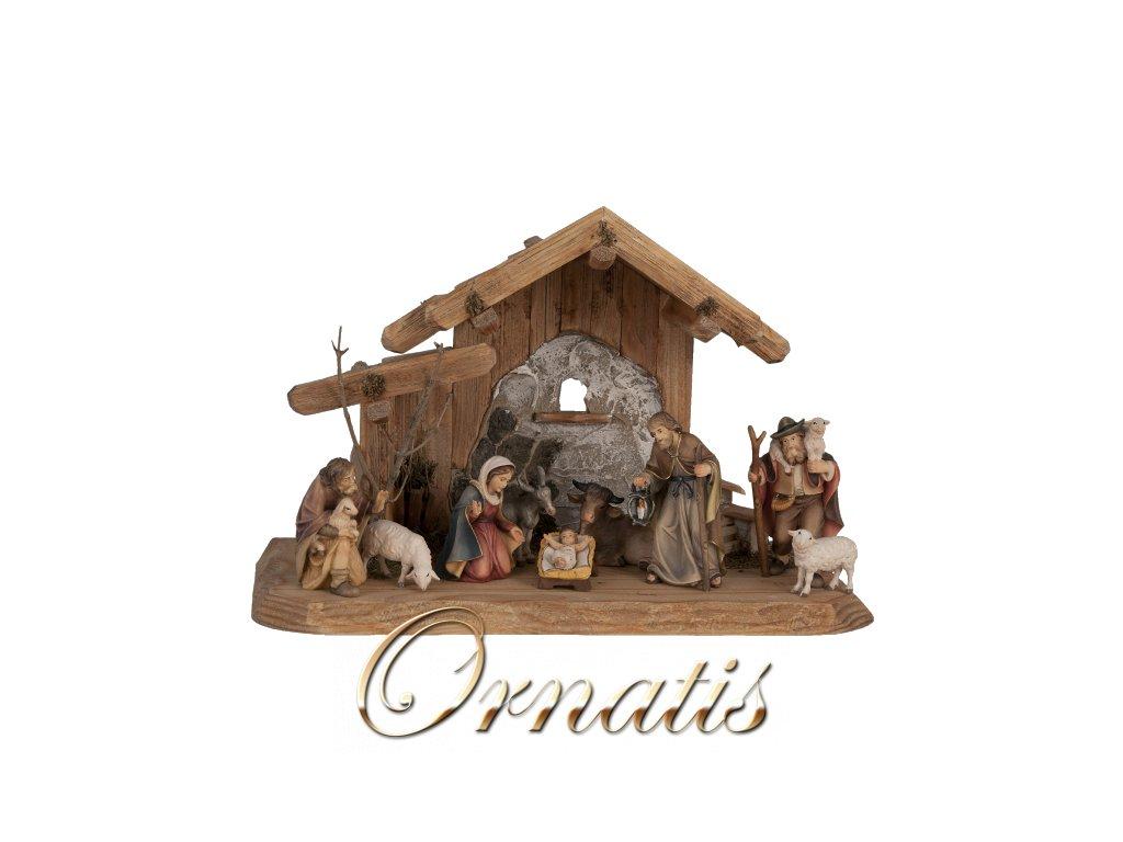 dřevěné vyřezávané betlémy ruční výroba