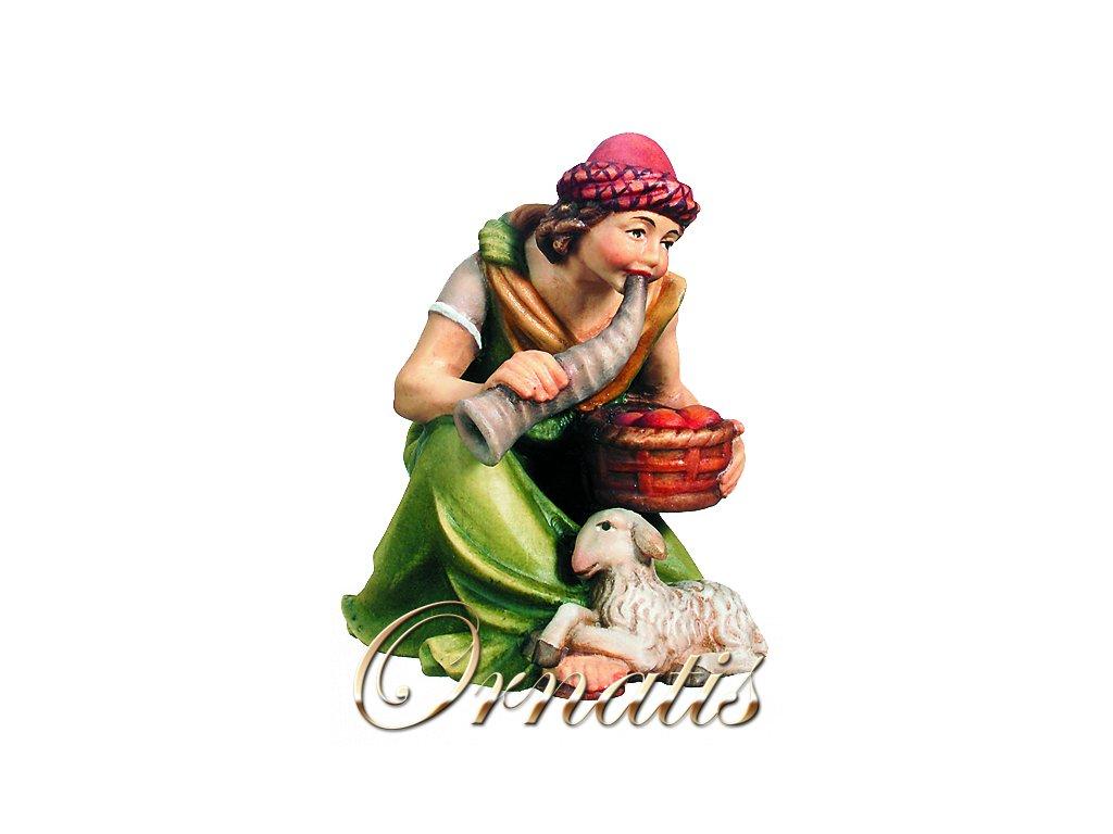 Pastýř klečící s ovečkou-prodej betlémů